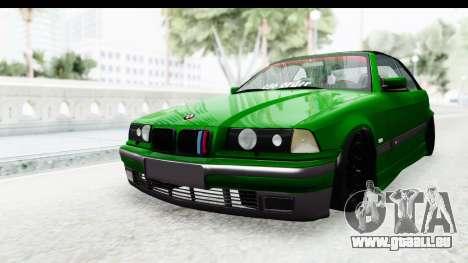 BMW M3 E36 Sloboz Edition für GTA San Andreas rechten Ansicht