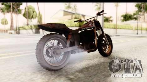 GTA 5 Western Cliffhanger Custom v1 IVF für GTA San Andreas linke Ansicht