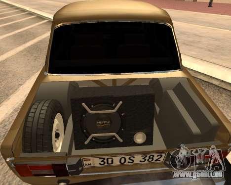 VAZ 2106 Armenian für GTA San Andreas linke Ansicht
