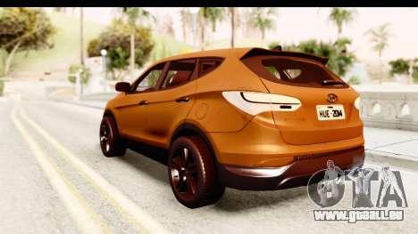 Hyundai Santa Fe 2015 für GTA San Andreas linke Ansicht