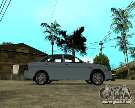 Lada Priora Arménie pour GTA San Andreas vue de droite