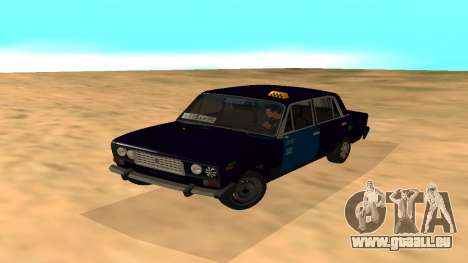 VAZ-2106 de GVR de la première version pour GTA San Andreas