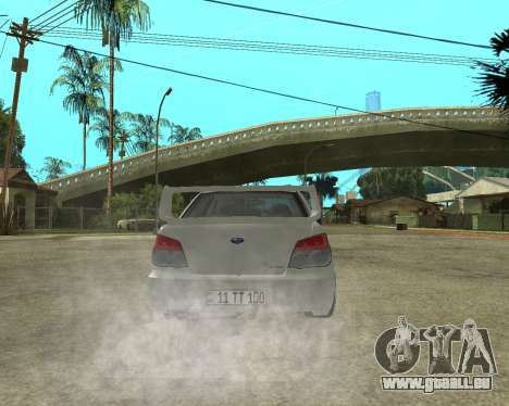 Subaru Impreza Armenian für GTA San Andreas Motor