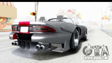 GTA 5 Bravado Banshee 900R Carbon Mip Map pour GTA San Andreas sur la vue arrière gauche