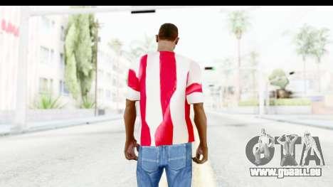 T-Shirt USA Flag pour GTA San Andreas troisième écran