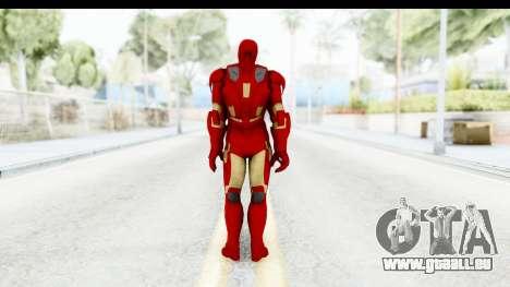 Marvel Heroes - Iron Man Mk7 pour GTA San Andreas troisième écran