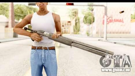 MP-153 pour GTA San Andreas troisième écran
