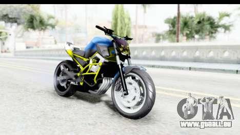 Yamaha Cage Sic pour GTA San Andreas