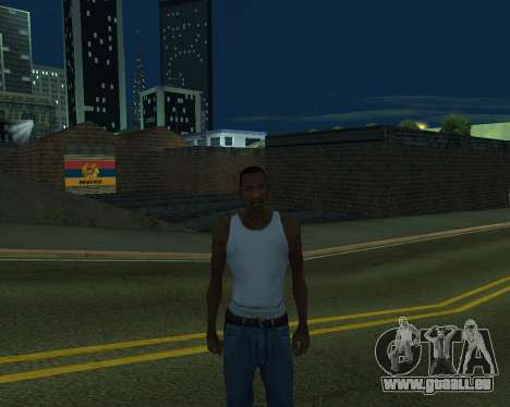 Neue garage Armenien für GTA San Andreas fünften Screenshot