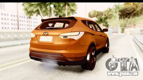 Hyundai Santa Fe 2015 für GTA San Andreas rechten Ansicht