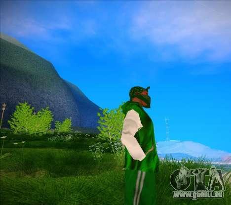 Die Lunsdale Jacke für GTA San Andreas zweiten Screenshot