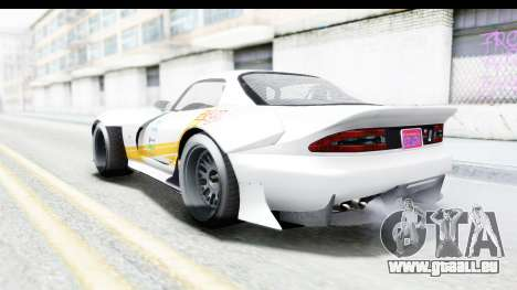 GTA 5 Bravado Banshee 900R Carbon Mip Map IVF pour GTA San Andreas salon