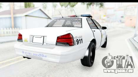 Sri Lanka Police Car v3 pour GTA San Andreas vue de droite