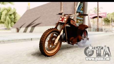 GTA 5 Western Cliffhanger Custom v1 IVF für GTA San Andreas rechten Ansicht