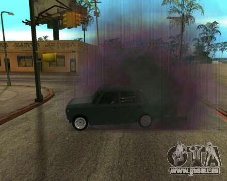 VAZ 2101 Armenien für GTA San Andreas Unteransicht