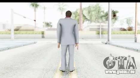 Yakuza 5 Kazuma Kiryu pour GTA San Andreas troisième écran