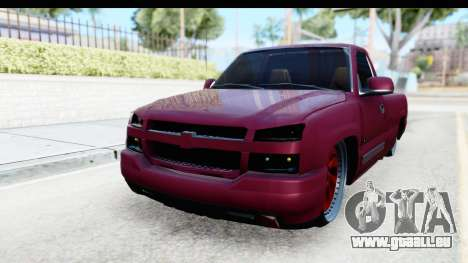 Chevrolet Silverado 2005 Low pour GTA San Andreas