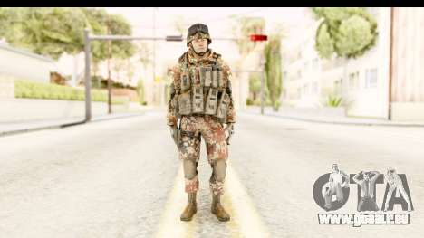 Danish Soldier für GTA San Andreas zweiten Screenshot