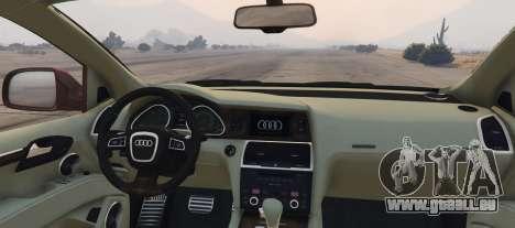 GTA 5 Audi Q7 AS7 ABT 2009 hinten links Seitenansicht