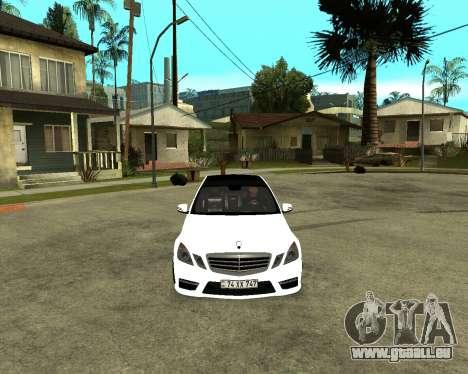 Mercedes-Benz E250 Armenian für GTA San Andreas zurück linke Ansicht