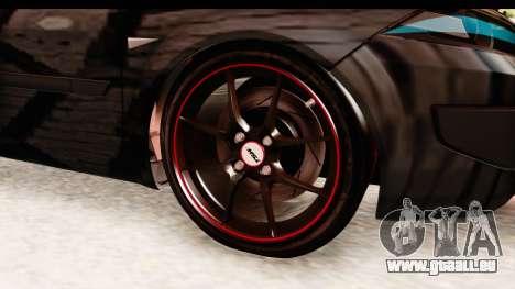 Renault Megane Spyder Full Tuning v2 pour GTA San Andreas vue arrière
