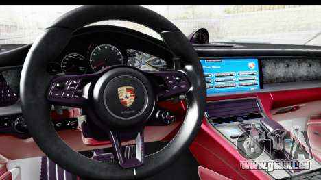 Porsche Panamera 4S 2017 v1 pour GTA San Andreas vue de droite