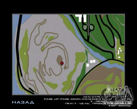Armenian Flag On Mount Chiliad V-2.0 für GTA San Andreas achten Screenshot