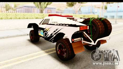 GTA 5 Desert Raid SA Lights PJ pour GTA San Andreas vue de dessus