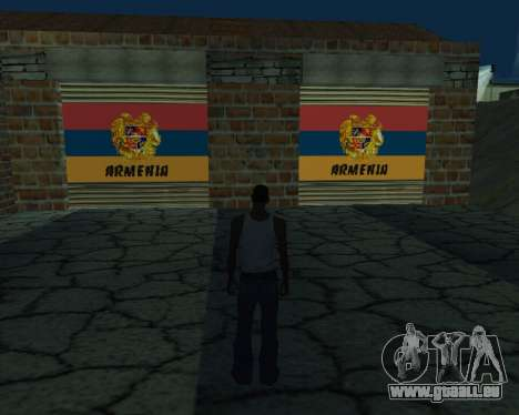 Nouveau garage de l'Arménie pour GTA San Andreas
