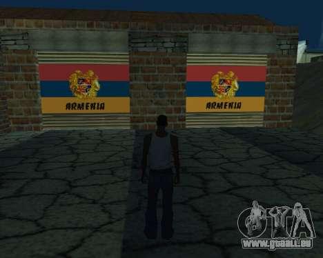 Neue garage Armenien für GTA San Andreas