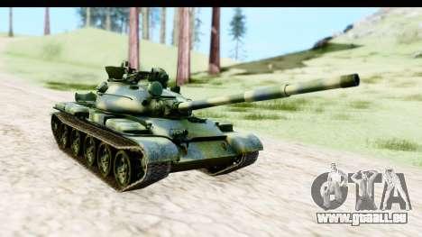 T-62 Wood Camo v3 pour GTA San Andreas vue de droite