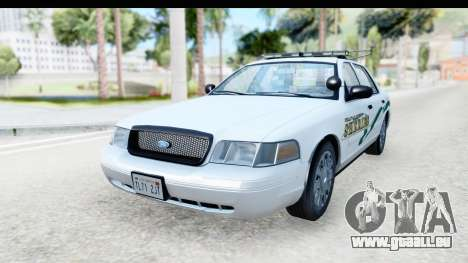 Ford Crown Victoria 2009 Southern Justice pour GTA San Andreas