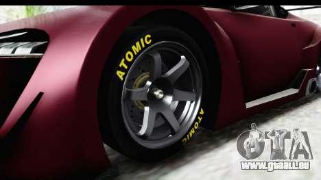 GTA 5 Emperor ETR1 SA Lights pour GTA San Andreas vue arrière
