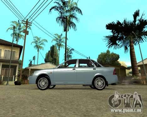 Lada Priora Arménie pour GTA San Andreas laissé vue