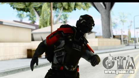 Homefront The Revolution - KPA v1 Captain pour GTA San Andreas
