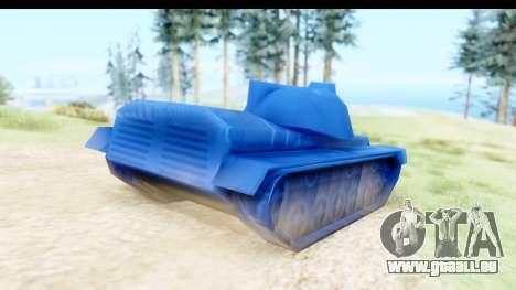 Tank M60 from Army Men: Serges Heroes 2 DC pour GTA San Andreas laissé vue