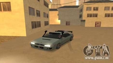 Super Sultan pour GTA San Andreas vue de droite