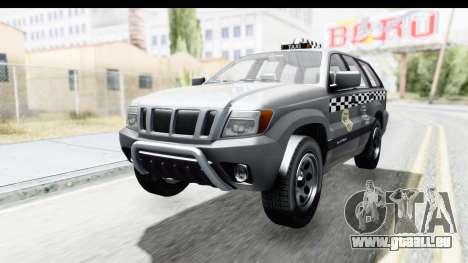 GTA 5 Canis Seminole Taxi für GTA San Andreas