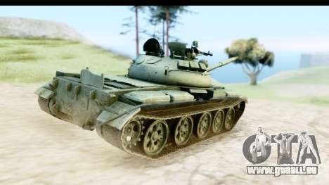 T-62 Wood Camo v1 pour GTA San Andreas vue de droite