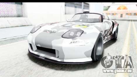 GTA 5 Bravado Banshee 900R Carbon Mip Map pour GTA San Andreas roue