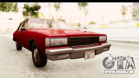Chevrolet Caprice 1987 für GTA San Andreas