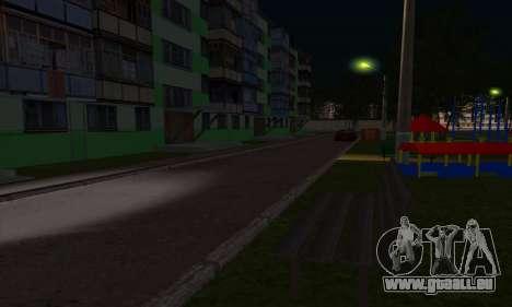 Der neue Bezirk in der Nähe von Arzamas für GTA San Andreas neunten Screenshot
