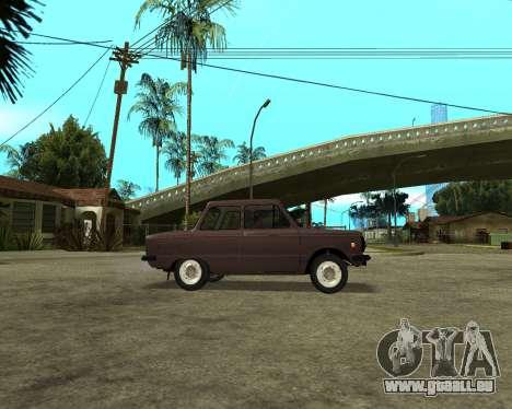 ZAZ 968M Arménie pour GTA San Andreas vue de droite