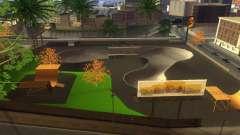 Neue Texturen von einem skate-Park und Krankenha