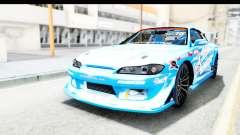Nissan Silvia S15 D1GP Blue Toyo Tires