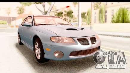 Pontiac GTO 2006 für GTA San Andreas