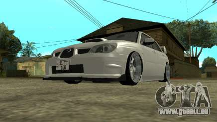 Subaru Impreza Armenian pour GTA San Andreas