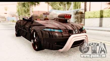 Renault Megane Spyder Full Tuning v2 für GTA San Andreas