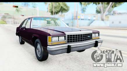 Ford LTD Crown Victoria 1987 pour GTA San Andreas