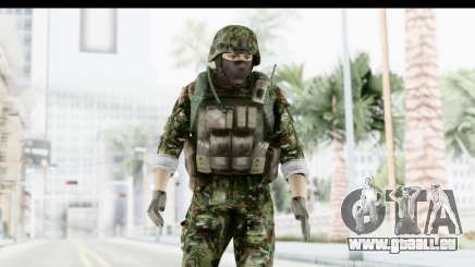 Global Warfare Balkan pour GTA San Andreas